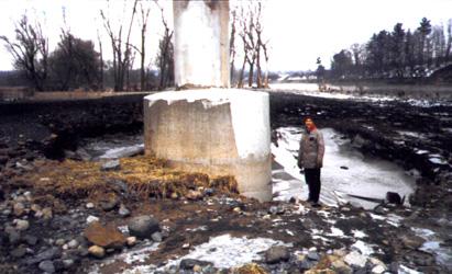 Bridge Scour of The Bridge This Scour